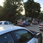 Police and deputies respond to a car chase on Tuesday evening on Nettleton Avenue in Springfield.