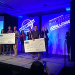 Boulder-based Native and Longmont-based Change Composites placed first and second Wednesday in the collegiate round of the CSU Blue Ocean Challenge for their entrepreneurial ideas. The teams collectively won $25,000.