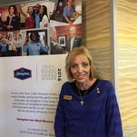 Southern Hospitality's Janie Russ recently received the Spirit of Hampton award.