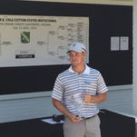 Cory Churchman claimed the 2015 W.E. Cole Cotton States championship at Bayou DeSiard Country Club.
