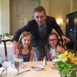 Nora Beth Grayson, left, and her sister, Stella Kate Grayson, were among the participants in the recent Models and Manners etiquette program at the Capital City Club.