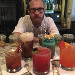 "Jonathan ""Stu"" Stutte uses fresh ingredients and a lot imagination to mix cocktails at Crush Eleven in Cocoa Village"