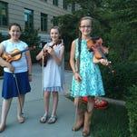 Asheville Shindig showcases 4 girl fiddlers, ages 10-13