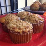 Apple-crumb muffins from A Bite of Everything, a breakfast-lunch cafe opened by a chef and his wife in May at Royal Palm Square in Fort Myers (and the subject of this week's Off The Eaten Path).