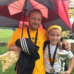 Mallory Glass and Coach Bryan Kleinman