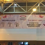 Inside of the Ernest N. Morial Convention Center in New Orleans during the 2015 Essence Festival