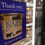 Blue Bell ice cream returned to Montgomery store shelves in September.