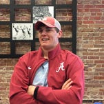 Alabama quarterback Jake Coker grew up in Mobile attending Senior Bowl events. Now, he's one of main attractions for Jan. 30 game at Ladd-Peebles Stadium.