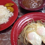 Cuban steak and eggs at Martha's Cuban Cafe in south Fort Myers.