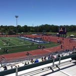 State track & field championships at Cicero-North Syracuse.
