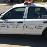 Palm Springs police are investigating a string of burglaries that happened sometime between Sunday evening and Monday morning.