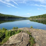 A view of Breakeck Pond, the site of the new Appalachian Mountain Outdoor Center.