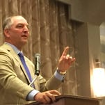 Gov. John Bel Edwards tells delegates Wednesday at the Democratic National Convention that Democrats can win in the Deep South