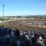 The Electric City Speedway is usually a busy place on summer weekend nights.