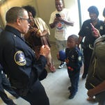 Detroit boy, 7, is police chief for a day