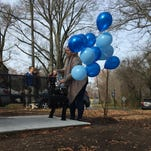 Haddon Twp. bench dedicated to slain toddler