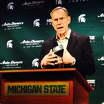 Michigan State's Mark Dantonio: DL Cassius Peat did not fulfill obligations to return