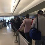 Photos: Frontier Airlines delays at Sky Harbor airport