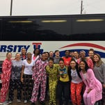 Pajama-clad Techsters invade Texas to win, bond