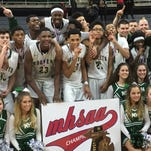 Class B final: New Haven runs away with title, 45-36, over Ludington