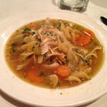 Scrumptious chicken soup in an hour using a pressure cooker