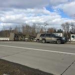 UPDATE: Semi loses trailer on I-94 west of Range Road