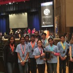 Power students place 10th at Science Olympiad tourney