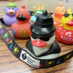 Collectible rubber ducks were introduced during last year's 35th Anniversary Jump Rope for Heart events to raise funds for the American Heart Association.