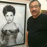 Mayor John Marks found this portrait of Lena Horne hanging in a NYC clothing shop, and wouldn't leave without it.