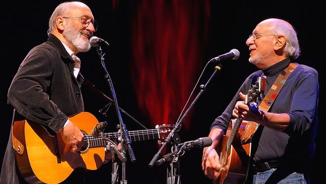 Peter Yarrow and Noel Paul Stookey will perform at Fred Kavli Theater on Friday at 8 p.m.