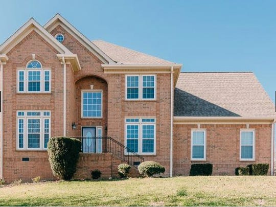 This house, at 136 Ballentrae Drive in Hendersonville,