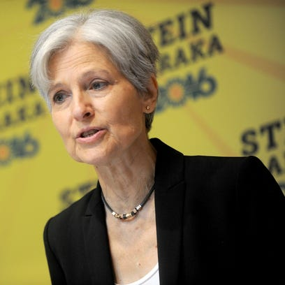 Green Party presidential candidate Jill Stein on Aug.
