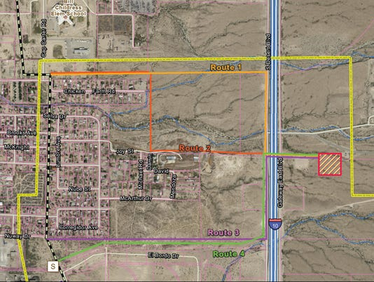 El Paso Electric Project Map-1