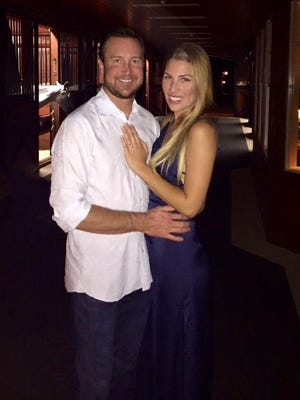 Kurt Busch proposed to his girlfriend Ashley Van Metre.