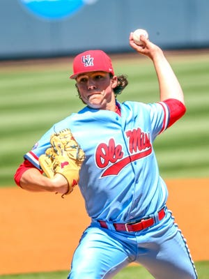 Ole Miss freshman Ryan Rolison sports a 2.48 ERA, which is tied for the sixth-best mark in the SEC.