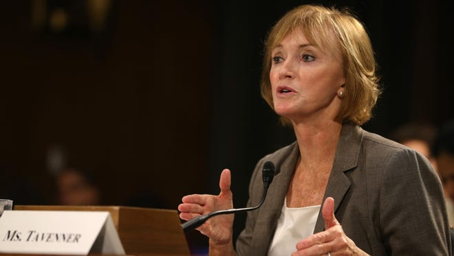 Centers for Medicare and Medicaid Services Administrator Marilyn Tavenner testifies on Capitol Hill last week.