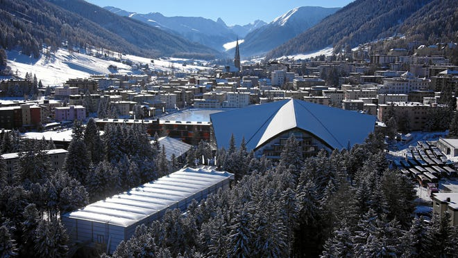 Davos, Switzerland. The 2014 annual meeting of the World Economic Forum will take place there from Jan. 22 to 25.