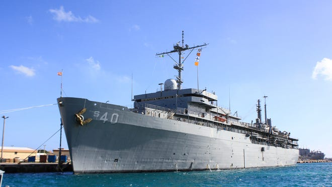 U.S. Navy spokesperson has confirmed an unknown number of positive COVID-19 tests of personnel about the USS Frank Cable.