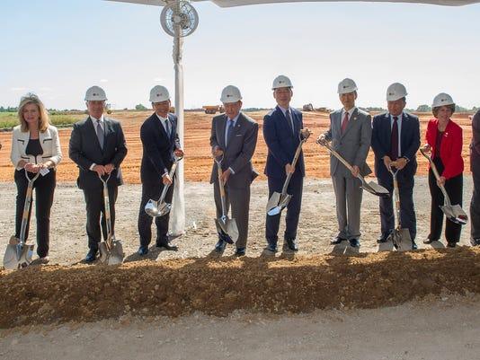 LG Factory Groundbreaking Ceremony