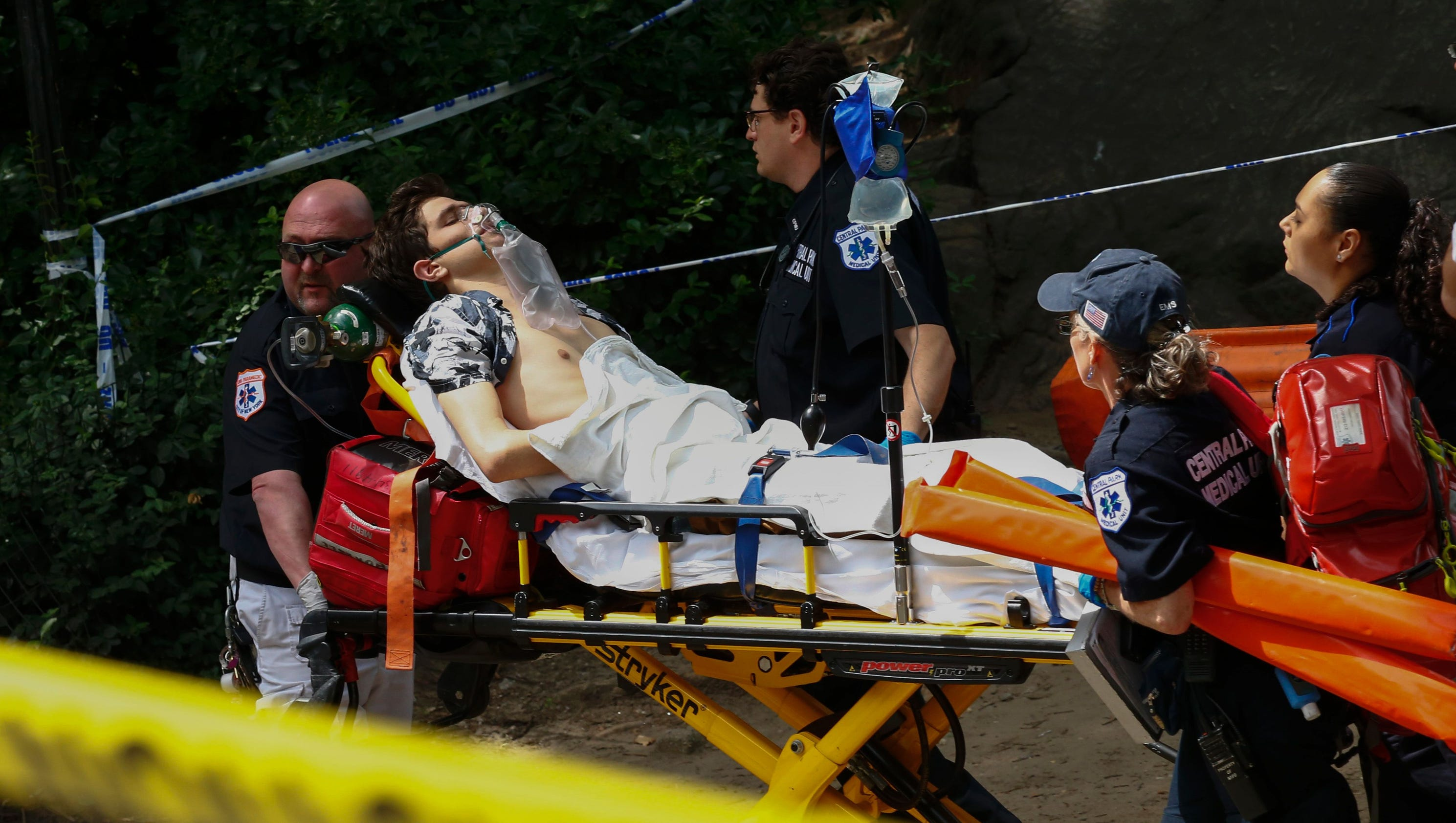 Reports: Explosive device injures man in New York's Central Park