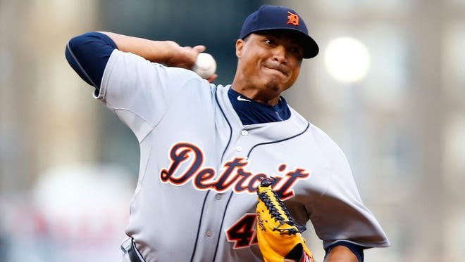 Alfredo Simon of the Detroit Tigers.