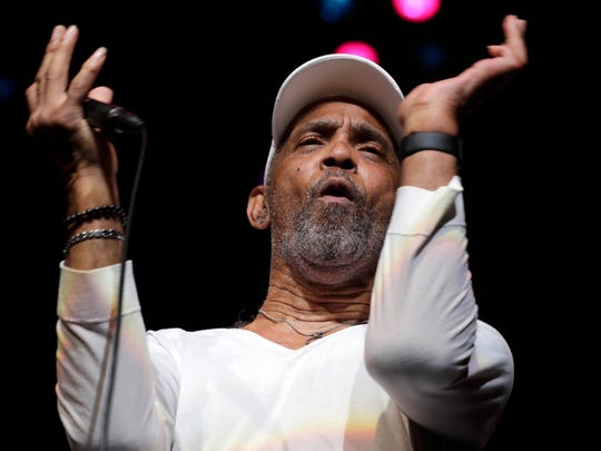 Maze featuring Frankie Beverly performs at the BMO Harris Pavilion.
