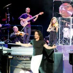 Greek composer and musician Yanni brings his 15-member orchestra to Thalia Mara Hall Thursday night. The show starts at 7:30 p.m.