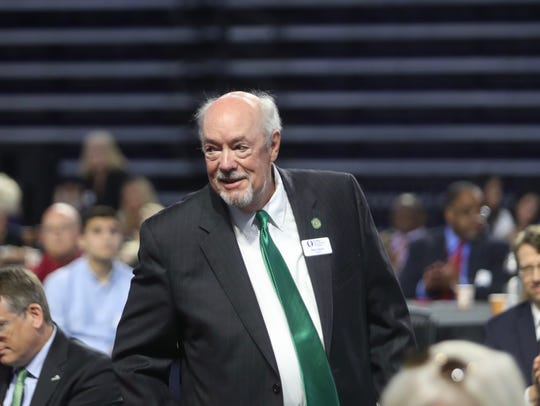 FGCU president Michael Martin was named the Person