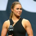 UFC women's bantamweight champion Ronda Rousey.