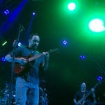 The Dave Matthews Band performs at Ak-Chin Pavillion, Sunday, September 13, 2015, in Phoenix.