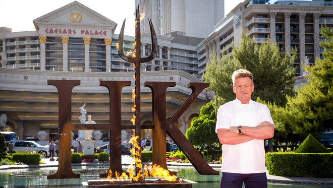 Gordon Ramsay will open his first HELL'S KITCHEN restaurant at Caesars Palace this winter.