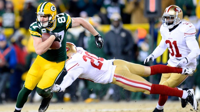 The NFC wild card playoff game at Lambeau Field on Jan. 5.
