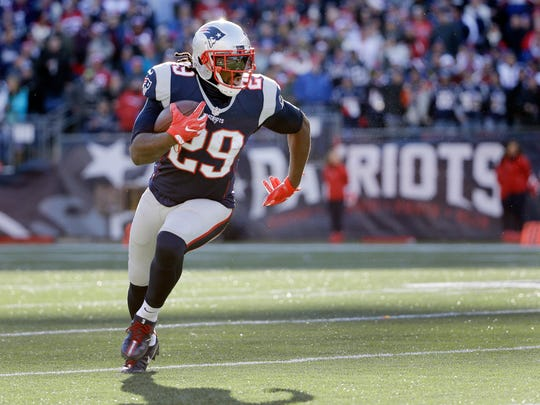The Patriots have leaned on running back LeGarrette Blount in short-yardage situations this season.  (AP Photo/Elise Amendola, File)