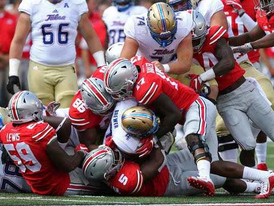 NCAA Football: Tulsa at Ohio State
